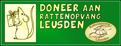 Doneer aan rattenopvang Leusden